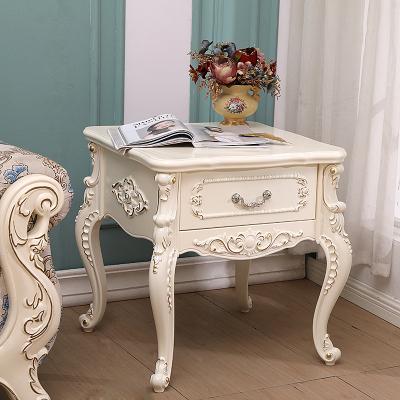 尋木匠客廳沙發邊柜邊幾歐式角幾方幾美式簡約小邊幾茶幾木小戶型桌子