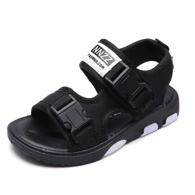 男童涼鞋新款韓版兒童沙灘鞋夏季中大童防滑軟底男孩休閑童鞋