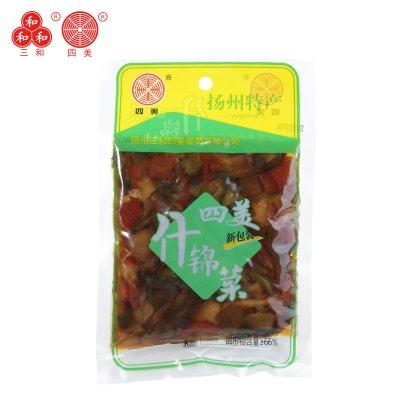 三和四美醬菜什錦菜120g袋裝 揚州特產醬菜下飯菜咸菜