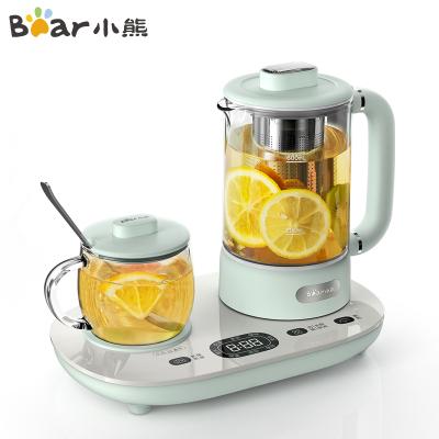 小熊(Bear)養生壺 YSH-C06N1 0.6L可預約定時多功能家用辦公室煮茶壺花茶壺電煮茶器蘇寧自營