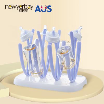 紐因貝NEWYERBAY 奶瓶架 奶瓶晾干瀝水架防塵晾奶瓶架子 奶瓶干燥架