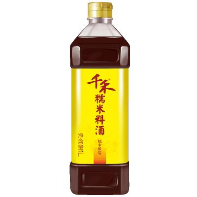 千禾糯米料酒1L 糯米釀造增鮮提味美味佳肴烹飪炒菜 贈品裝