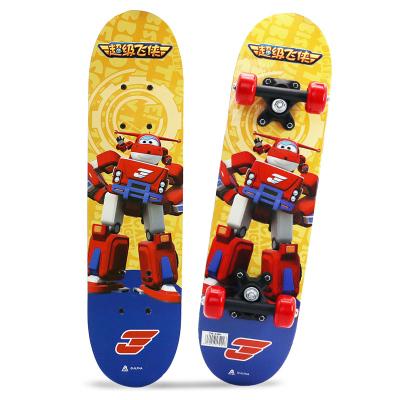超級飛俠 兒童滑板classic2-8歲 四輪雙翹板 入門初學者代步楓木滑板
