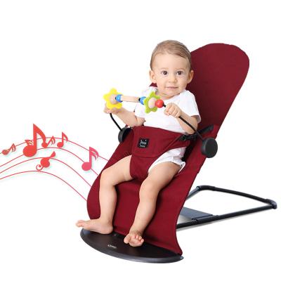 海の心家具(HAIZHIXIN)哄娃神器婴儿摇摇椅自动安抚哄睡神器送礼品宝宝摇篮躺椅音乐抖音承重18kg4岁以上