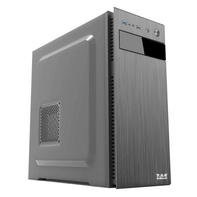 大水牛(BUBALUS)瑞博商务办公台式电脑主机箱支持ATX/SSD/背板走线/机箱