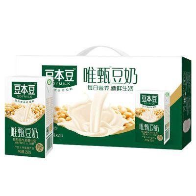 【6月新產】豆本豆唯甄豆奶250ml*16瓶禮盒 早餐奶植物蛋白飲品