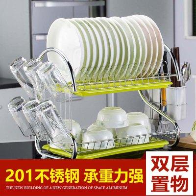 【收納助手】廚房置物架碗碟架瀝水架碗架收納用具廚房置物架砧板架碗筷架邦云官方旗艦店