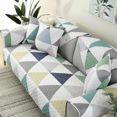俏居(Choshome)家紡 純棉布藝防滑70*70cm沙發墊坐墊簡約現代四季通用多種尺寸純棉面料靠背組合沙發巾套罩