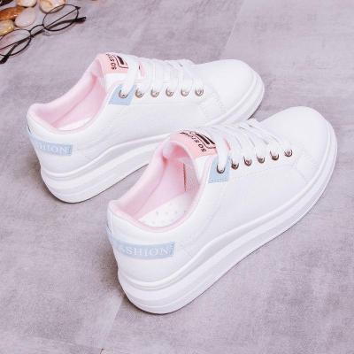 鞋子女2020潮鞋新款百搭春秋小白鞋夏季學生chic街拍單鞋透氣白鞋