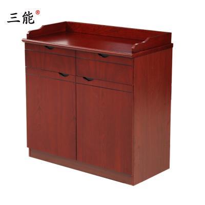 三能 辦公家具茶水柜餐邊柜 貼木皮油漆茶水柜其他人造板辦公柜類低柜 矮柜