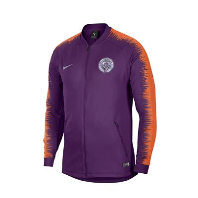 Nike耐克 1819曼城足球訓練長袖外套運動休閑夾克常規型 894363-541