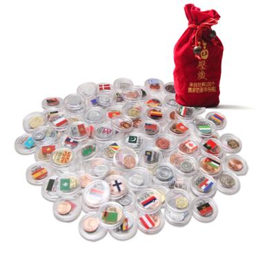 外國錢幣 硬幣福袋 100個國家的祝福 壓歲賀歲包 百國硬幣百福袋 新年紅包好物