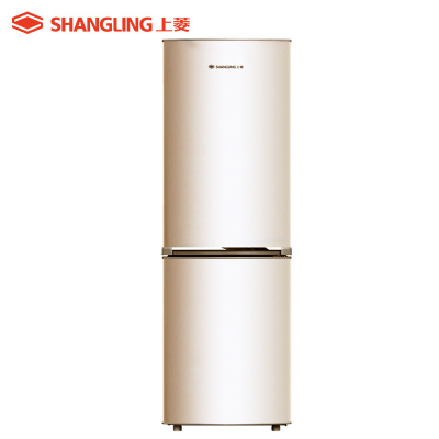 上菱(shangling) BCD-183D(金)183升双门冰箱小型家用 优质压缩机静音节能 小冰箱 两门家用电冰箱
