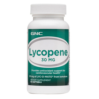 美國原裝正品GNC健安喜番茄紅素30mg60粒軟膠囊Lycopene男性備孕精子質量活性抗氧化
