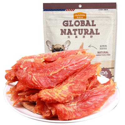 麥富迪北美原野雞肉干360g狗零食雞肉干牛肉干訓狗零食雞胸肉寵物狗磨牙零食