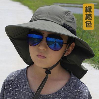 抗户外儿童渔夫帽运动沙滩遮阳帽旅游防晒亲子帽男女学生太阳帽