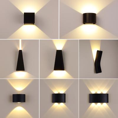 Grevol戶外庭院壁燈床頭燈簡約現代簡約墻壁燈創意臥室書房走廊燈過道燈壁燈