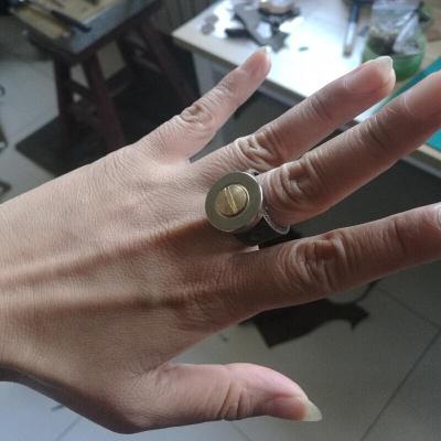 吸彈強磁磁鐵磁鋼吸彈珠戒指磁力真指環吸鋼珠吸鐵石八月七