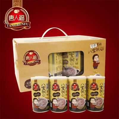 唐人福无糖食品店八宝粥12罐糖尿人主食代餐营养速食杂粮