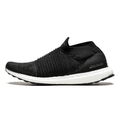 阿迪达斯(adidas)2018秋 男子女子UltraBOOST LACELESS跑步鞋 BB6311