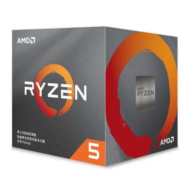 AMD 銳龍5 3600X 處理器 (r5)7nm 6核12線程 3.8GHz 95W AM4接口 盒裝CPU 第三代銳龍 配套X570/X470/B450/A320主板及顯卡使用