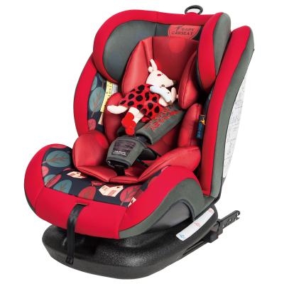 貝貝卡西0-3-4-12歲ISOFIX接口寶寶車載嬰兒童安全座椅汽車用簡易便攜式坐椅