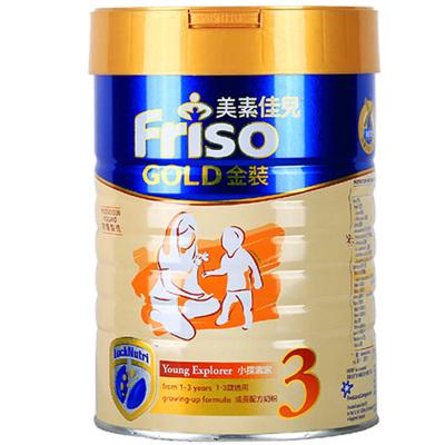 Friso 港版美素佳儿 金装 婴儿配方奶粉 3段(1-3岁) 900g/罐 荷兰原装进口