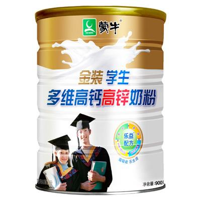 蒙牛金装学生多维高钙高锌奶粉罐装900g