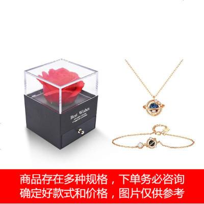 纯银手链女ins小众设计简约日式异地恋手饰生日圣诞节礼物送女友