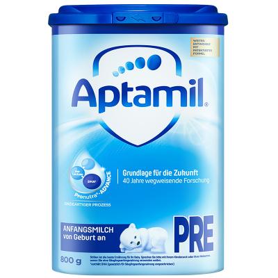 Aptamil 德國愛他美 HMO升級 嬰幼兒配方奶粉海外 易樂罐 pre段(0-6個月)800g/罐 愛爾蘭原裝進口