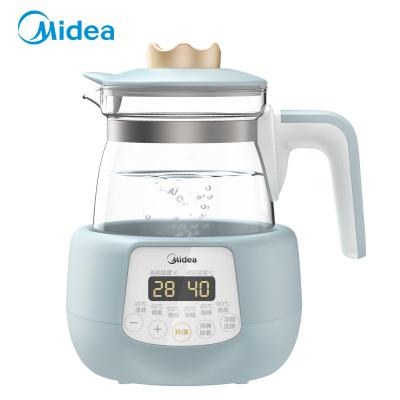 美的(Midea)恒温调奶器MI-MYTE101恒温水壶多功能温奶器婴儿冲奶水壶玻璃电热保温烧水壶