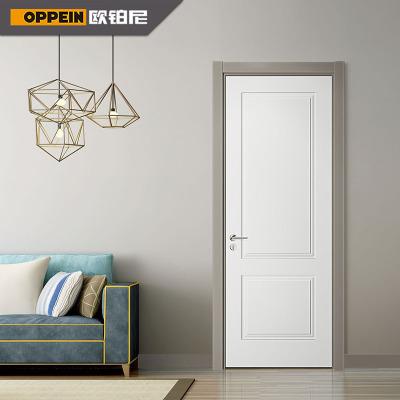 欧铂尼木门免漆门室内门定制实木门套装门平开卧室门布拉诺免漆卧室门