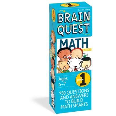 Brain Quest Grade 1 Math 智力開發系列:1年級數學 ISBN9780761141358