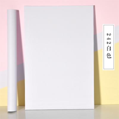 純白色自粘貼紙墻紙10米網紅背景墻宿舍墻紙臥室溫馨壁紙自粘