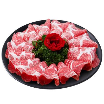 恋尚牛 M3雪花牛肉片300g 澳洲进口 谷饲原切牛排 生鲜牛肉