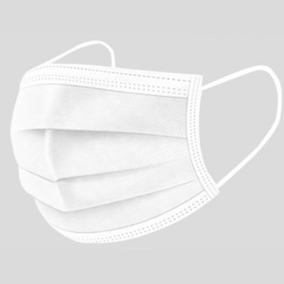 粉色口罩一次性成人女男透氣防飛沫三層50只防護獨立包裝 白色50只裝(獨立包裝)【特價】