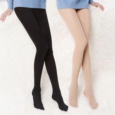 品彩(PinCai)春秋中厚女連褲襪防勾絲顯瘦美腿襪光腿神器肉色薄款打底褲子大碼