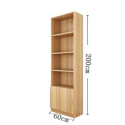 60*30*200高書柜書架展示柜閃電客120陳列柜貨柜自由組合2.2/2.4米  60淺胡桃色30深