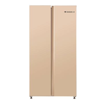 上菱 (SHANGLING)BCD-465WSVYD 465升对开门冰箱 一级能效 风冷无霜 双变频节能 大容量电冰箱