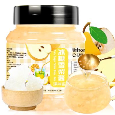 【買即送勺】蒲草茶坊 冰糖雪梨醬泡水冷飲冷藏夏日飲品500g