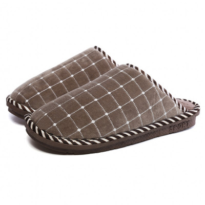 潮路思2019新款棉拖鞋女冬季居家室内保暖家用棉拖男家居地板拖防滑软底