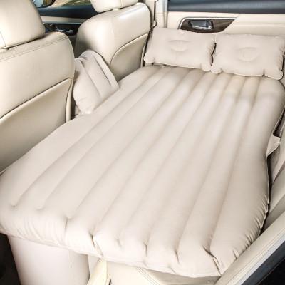 【蘇寧自營】沿途(Yantu)車載充氣床 F26米色 汽車后排床墊自駕游裝備分體式氣墊床
