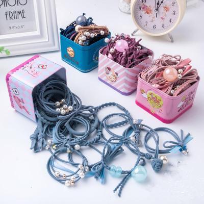 超仙耐用飾辮繩女童頭繩圈通用小朋友小童彩色頭飾中大童橡筋