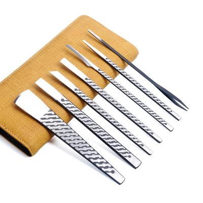 天藝 技師版專業修腳刀套裝 鎖紋鋒鋼工具甲溝去死皮炎老繭