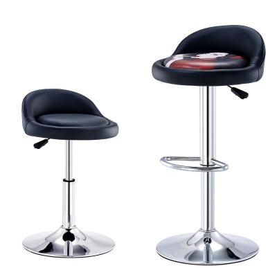吧臺椅現代簡約酒吧椅高腳椅凳子升降旋轉靠背椅子法耐FANAI家用高腳凳吧臺美甲圓凳子