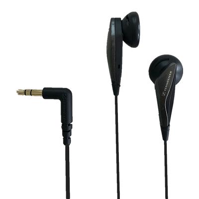 森海塞尔(Sennheiser)MX375 高清解析平头塞 立体声手机耳机耳塞 强劲低 黑色