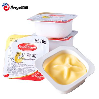 百鉆無鹽黃油食用動物性烘焙家用煎牛排做蛋糕烘培小包裝10g*25粒