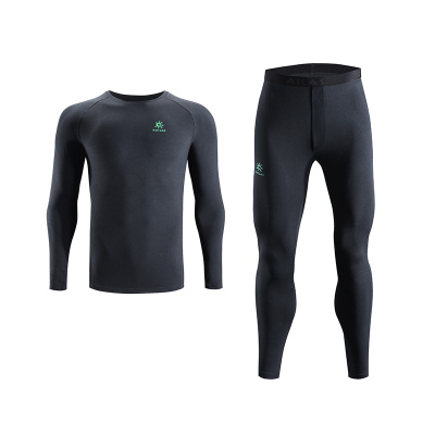 Kailas凱樂石戶外運動男款coolmax內衣褲套裝 保暖貼身透氣柔軟