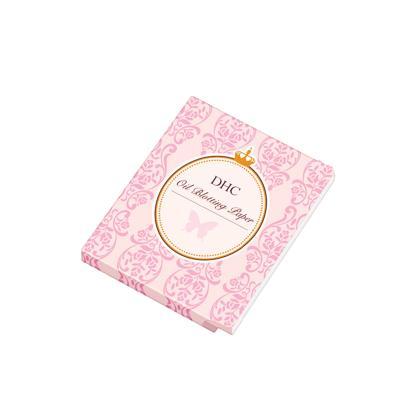 DHC吸油面纸(携带型)100张 天然麻清洁毛孔控油补妆便携清爽男女士可用日本原装进口洁面补妆