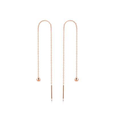 IDEAL愛迪爾珠寶 18K金珠耳線(一對)